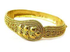 古代ギリシャの金細工フィリグリーブレスレット