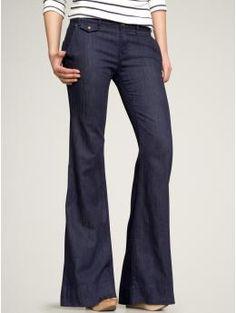 Dear Wide Leg Trouser Jean. You complete me.