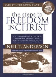 Steps to Freedom in Christ: A Step-By-Step Guide To Help You by Neil T. Anderson. $4.99. Reading level: Ages 18 and up. Publication: May 10, 2004. Publisher: Gospel Light; 3 edition (May 10, 2004)