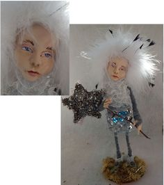 Christmas Star Sappling OOAK Fairy Elf Fairies Art Doll Sculpture Holiday #handmade http://www.ebay.com/itm/Christmas-Star-Sappling-OOAK-Fairy-Elf-Fairies-Art-Doll-Sculpture-Holiday-/151515046005?