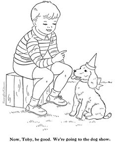 Fun dog pictures to color Mandala Coloring Pages, Colouring Pages, Coloring Sheets, Coloring Books, Dog Pictures To Color, Yarn Crafts, Kids Crafts, Human Drawing, Fun Dog