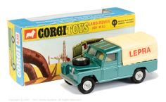 SCARCE Corgi 438 LEPRA Land Rover Distributed for Promotional Fundraising