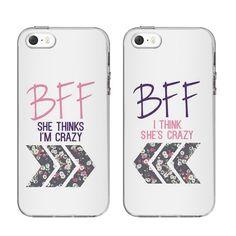 Fundas Mejores Amigos Del Bff para iPhone SE/5/5s Zazzle.es