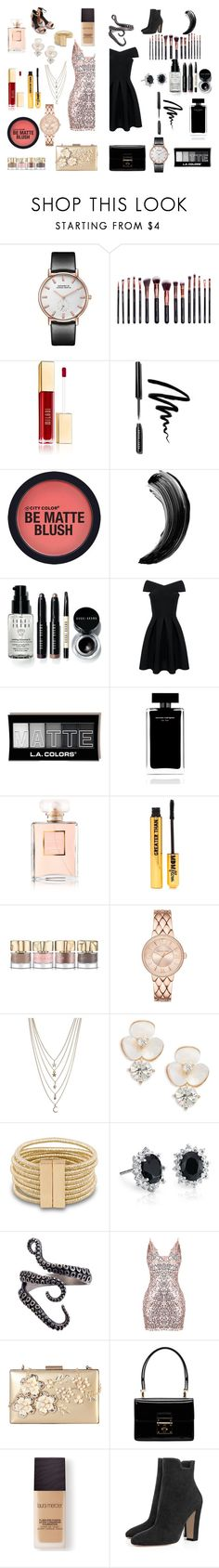 """""""Untitled #12"""" by bluephoenx ❤ liked on Polyvore featuring M.O.T.D Cosmetics, Bobbi Brown Cosmetics, Narciso Rodriguez, Chanel, Nasty Gal, Smith & Cult, Ettika, Kate Spade, Blue Nile and Rimen & Co."""