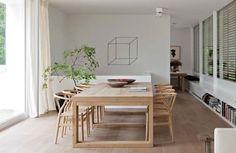 Mesa en roble natural