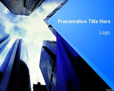 Corporate Finance PowerPoint Template #blue themed #Powerpoint #templates #background