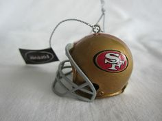 5ae5aa1efe9 New Helmet Ornament San Francisco NFL Football 49ers Christmas or All Year  SF Best Football Team