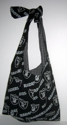 Oakland Raiders Tote bag market bag tailgate by CheriesPlace, $28.00