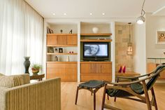 Apartamento Perdizes Sala de Estar Projeto - Enzo Sobocinski Arquitetura