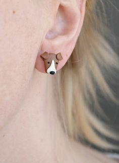 Dog tiny cute earrings