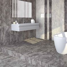 Dreire grey tiles are an excellent tile choice for anyone seeking large wall tiles and high gloss floor tiles in a mix of grey tones. These grey wall tiles look stylish when co-ordinated with the grey range of patterned wall tiles. Please be aware gloss tiles do become slippery when wet and care should be taken.