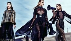 Natasha Poly, Doutzen Kroes, and Isabeli Fontana Front Olivier Rousteing's Balmain Spring '17 Campaign - Daily Front Row https://fashionweekdaily.com/natasha-poly-doutzen-kroes-and-isabeli-fontana-front-olivier-rousteings-balmain-spring-17-campaign/