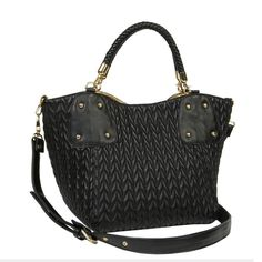 Big Buddah Pearl Quilted Crossbag  Style # pearl   Sku: 6267094003   $76.00
