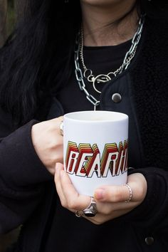 Our new Bearhug 'Retro Stack' Mugs have arrived! Question is: will it be tea or coffee?