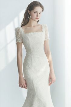 The FashionBrides is the largest online directory dedicated to bridal designers and wedding gowns. Find the gown you always dreamed for a fairy tale wedding. Wedding Dress With Veil, Wedding Dresses For Girls, Classic Wedding Dress, Princess Wedding Dresses, Bridal Dresses, Long Sleeve Mermaid Dress, Minimal Dress, Ceremony Dresses, Bridal Collection