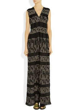 Zero+MariaCornejo Jacquard maxi dress - 60% Off Now at THE OUTNET