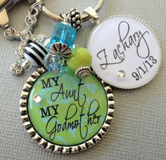 Buying for Alexas godmotherPersonalized necklace Godmother gift my aunt my by buttonit, $24.50