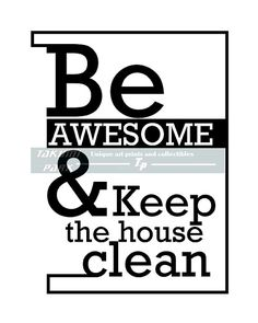 how to clean my house and keep it clean