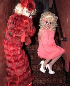 Katya and Trixie
