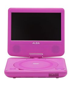 Buy Alba 7 Inch Portable DVD Player - Pink at Argos.co.uk - Your Online Shop for Portable DVD players and accessories.