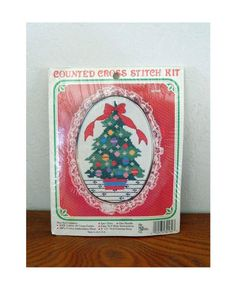 Counted Cross-Stitch Kit  The New Berlin Co  Christmas Tree