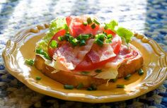 BLT French Toast - make mine with extra bacon!