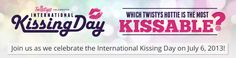 It's #InternationalKissingDay tomorrow and we wanna know- which #Twistys hottie would you wanna lock lips with! #kiss Click on the pic to VOTE! I want Emily Addison:-)