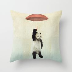 Buy Pandachute by Vin zzep as a high quality Throw Pillow. Worldwide shipping available at Society6.com. Just one of millions of products available.