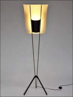 Pierre Guariche | Pierre Guariche, créateur de lumière, 1950-1959 | Paris 6e. Galerie Pascal Cuisinier Pierre Guariche, Mid Century Lighting, Paris Art, Light Art, Light Fixtures, Lights, Floor Lamps, Designer, Home Decor