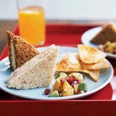 Bacon and Cheddar Tea Sandwiches Recipe