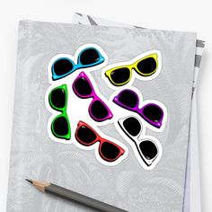 Sunglasses in Color by Royi Berkovitz