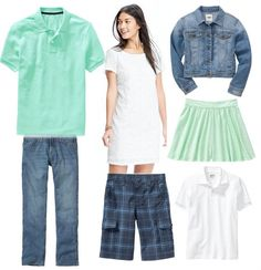 Get primped and ready for your spring family photo with these cute outfit ideas.