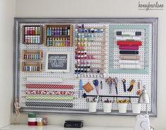 goedkope oplossing georganiseerde hobbykamer