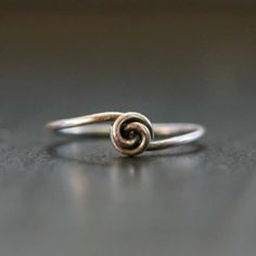 Fun DIY Jewelry Ideas   Cool Homemade Jewelry Tutorials for Adults and Teens   Awesome Bracelets, Necklaces, Earrings and Accessories You Can Make At Home   Lovely Wire Knot Ring   http://diyprojectsforteens.com/fun-diy-jewelry-ideas-for-teens