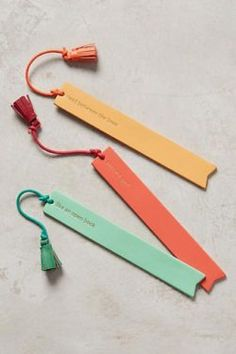 leather idiom bookmark
