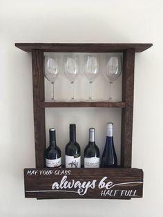 Pallet Wine Rack, Wine Rack by InSaineCreations on Etsy https://www.etsy.com/listing/506590566/pallet-wine-rack-wine-rack