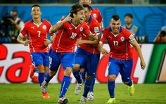 O CHILE VENCE A AUSTRÁLIA NA COPA DO MUNDO DO BRASIL 2014 - MEGA SPORTS PRESS™