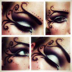 Diy fairy Halloween makeup