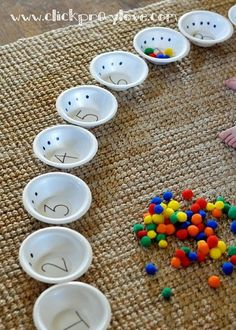 My son is 22 months old, so we have been talking a lot about numbers and attempting to count with him.  I came up with this activity while ...