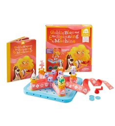 GoldieBlox Spinning Story and Construction Set