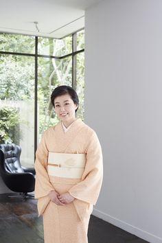 梨園の妻に学ぶ夏きもの着こなし術 その2 尾上菊之助丈令夫人・寺嶋瓔子さん