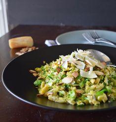 Love&Grub: Warm Brussels Sprout & Mushroom Salad