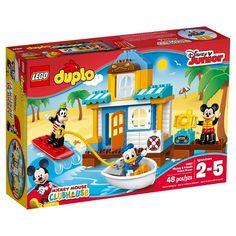 LEGO® DUPLO Disney™ Mickey & Friends Beach House 10827 : Target