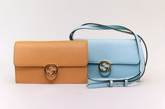 these GUCCI minis are on-trend -- cross body or carry as clutch!
