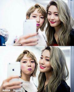 [NAVER X Dispatch] AOA 1st Album 「#ANGELS_KNOCK」 Jacket Photo bts #Choa And #Seolhyun  #EXCUSE_ME #BING_BING