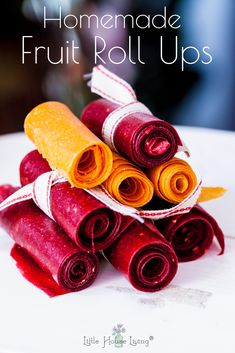 Fruit Roll Ups that you can make out of any fresh or frozen fruit that . Homemade Fruit Roll Ups that you can make out of any fresh or frozen fruit that .Homemade Fruit Roll Ups that you can make out of any fresh or frozen fruit that . Healthy Fruits, Healthy Snacks For Kids, Yummy Snacks, Snack Recipes, Healthy Recipes, Summer Kids Snacks, Snacks Kids, Fruit Roll Ups Homemade, Healthy Fruit Roll Up Recipe