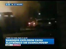 Galdino Saquarema Noticia: Ao vivo explosão de caixas eletrônicos em Guarulho SP...