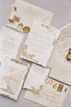 Ink Ivory Wedding Invitations, Addressing Wedding Invitations, Letterpress Wedding Invitations, Destination Wedding Invitations, Floral Wedding Invitations, Wedding Stationery, Wedding Card, Wedding Decor, Ethereal Wedding