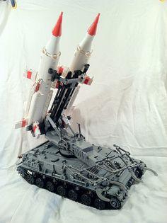 Really impressive Soviet Cold War era missile launcher