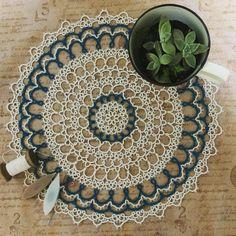 雨の降る休日は、一日中タティングの気分(^-^) #tatting #tattinglace #handmade #lace #タティングレース#タティング#雨の休日#多肉植物